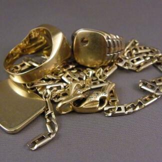 Omsmelten oud goud
