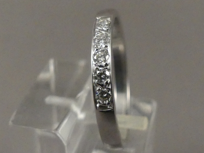 witgouden rijring diamant