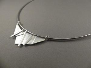 Spang collier met hanger