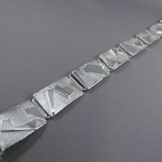 Heren armband zilver