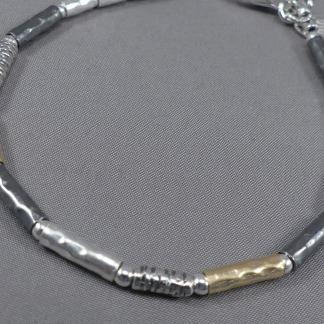 Armbandje zilver