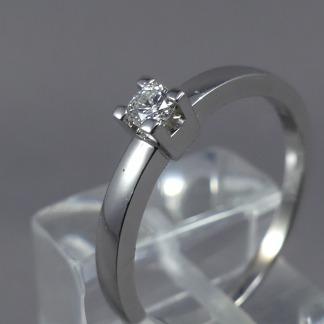 Ring met 1 diamant