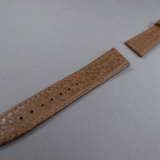 Horlogeband bruin olifant print
