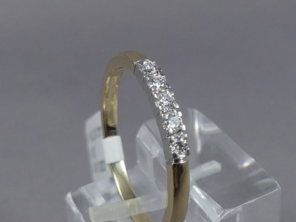 bicolor rijring diamant