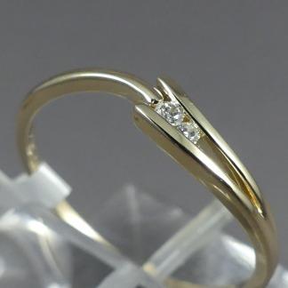 Slagring met diamant